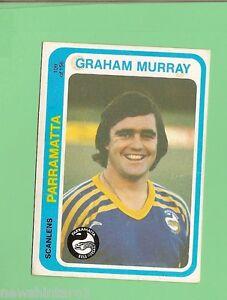 1979-PARRAMATTA-EELS-RUGBY-LEAGUE-CARD-109-GRAHAM-MURRAY