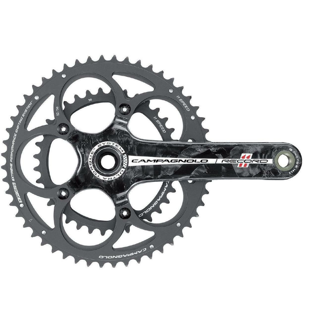 Campagnolo Record 11 Speed Ultra Torque Carbon Chainset All Größes
