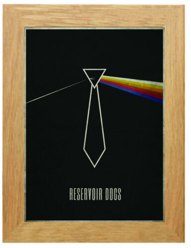 A3 A4 Sizes Reservoir Dogs Vintage Movie Poster Canvas Framed Art Print