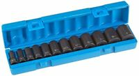 Grey Pneumatic (1202sd) 3/8 Drive 12-piece 12-point Semi-deep Socket Set, New, on sale
