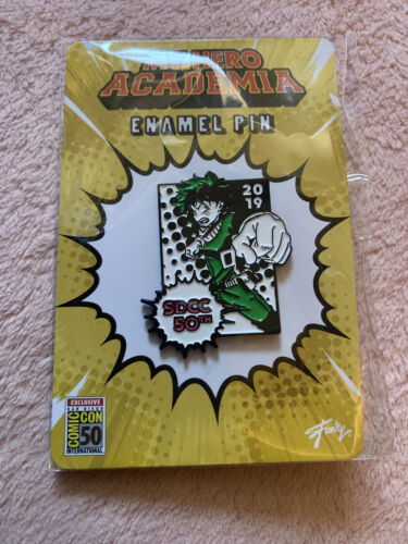 SDCC Exclusive Deku Enamel pin My Hero Academia