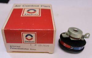 New OEM Delco Potentiometer Temp Control Wheel 9340400 1973 1974 Pontiac  (400)