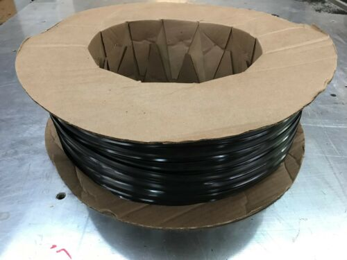 "1/"" x 35 ft BLACK Vinyl Insert Trim Molding Screw Cover RV Boat Camper Trailer"