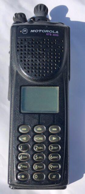 Motorola XTS 3000 VHF Astro Digital Imbe H38 SMARTZONE Radio H09KDH9PW7AN
