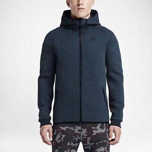 545277 Tag Tech Fleece y Sudadera con W hombre 460 para Nike Nueva capucha Windrunner completa cremallera rAwqrS1x
