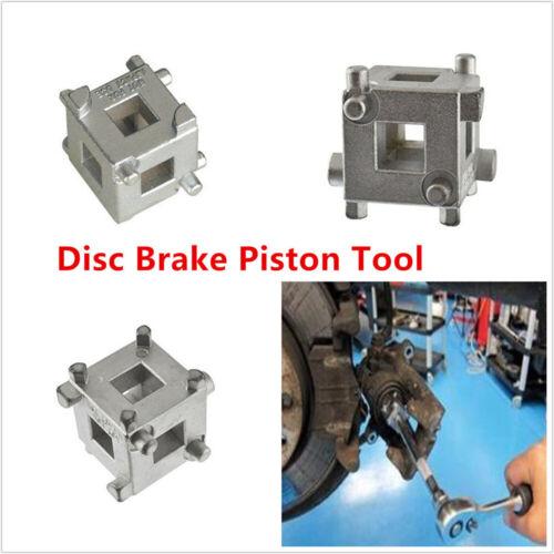"Carbon Steel 4-Wheel Disc Brake Caliper Piston Rewind//Wind Back Cube Tool 3//8/"""