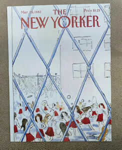 COVER-ONLY-The-New-Yorker-Magazine-March-29-1982-Arthur-Getz