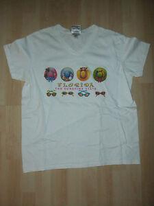 Neu-Damen-Maedchen-T-Shirt-T-Shirt-Gr-L-Florida-The-Sunshine-State-USA-Amerika