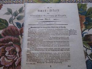 1828 Journal Officiel 6/militaire Médecin Médecin Militaire-afficher Le Titre D'origine