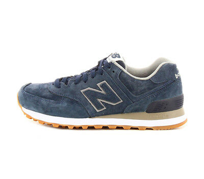 the best attitude 57f8b a6433 New Balance W 574 FSNBLU 574 FSN women's shoe in blue leather | eBay