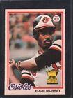 1978 O-PEE-CHEE Eddie Murray 154 Baseball Card