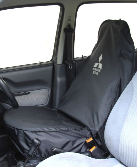 2006 on Tipper Tailored Fit Black 4 Rear Bench Seat Covers for Peugeot Boxer