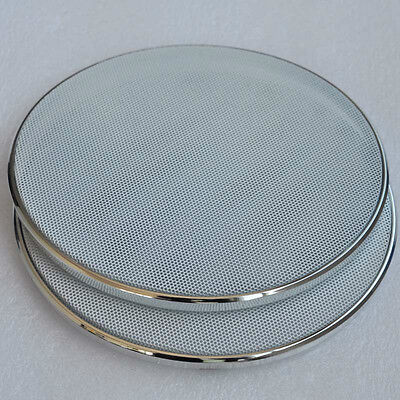 "2pcs 6.5"" inch Bass Audio Speaker Cover Decorative Circle with Metal Mesh Grille"