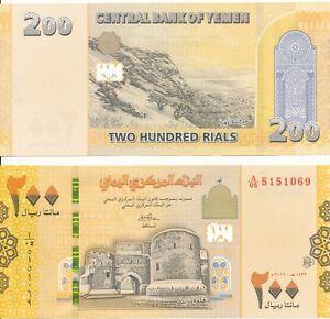 Yemen 200 Rials 2018 UNC Lemberg-Zp
