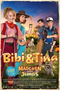Bibi & Tina - Mädchen gegen Jungs Blocksberg Film Poster Druck Grösse 61x91,5 cm