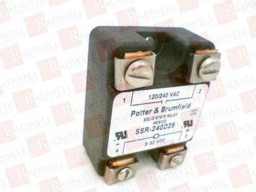 SSR240D25 USED TESTED CLEANED TE CONNECTIVITY SSR-240D25