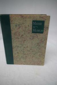 MARSH-amp-MUDFLAT-First-edition-1931-by-Major-Kenneth-Dawson-Hardback-illustrate