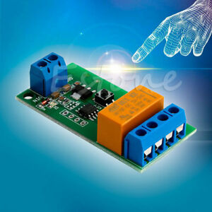 Details about DC 5V~12V Motor Reverse Polarity Cyclic Switch Timer Time  Repeater Delay Relay