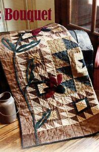 Rustic Bouquet Quilt Pattern Pieced/AppliqueSM | eBay
