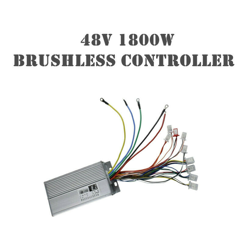 48V 1800W Brushless Motor Speed Controller Box For EScooter Go Kart Quad Bike