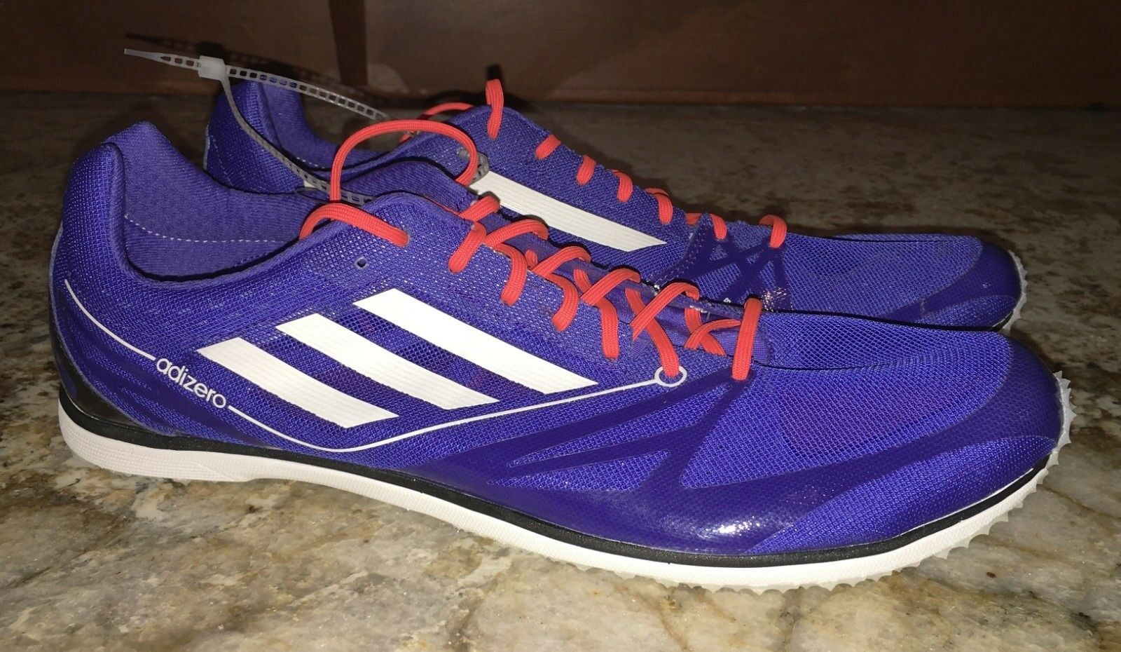 ADIDAS AdiZero Cadence 2 Shoes Distance Track Spikes Shoes 2 BLUE 4.5 6.5 7 9 10.5 13 14 bb830d
