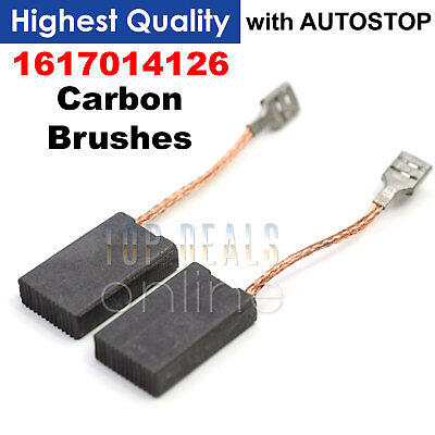 Carbon Brushes For Bosch 5x12,5x36mm WFF 117a 1180 1200 1201 120 L 1210 1220//a45