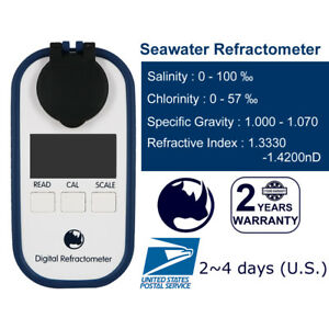 Seawater-Salinity-Specific-Gravity-Chlorinity-Rhino-Refractometer-DR202-ATC