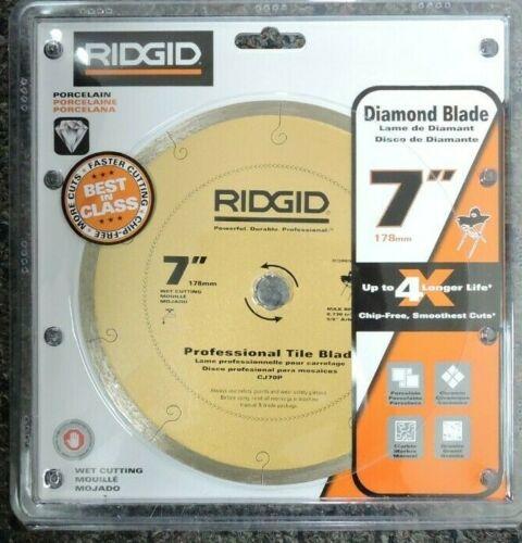 "Ridgid 7/"" Wet Cutting Professional Tile Blade CJ70P"