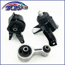 BRAND NEW ENGINE MOTOR MOUNTS REAR RIGHT LEFT SET KIT For Mazda 6 2.3 L
