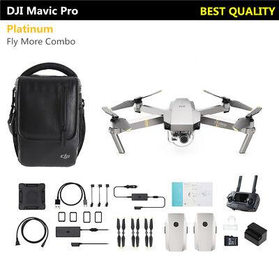 SIN IMPUESTOS DJI Pack Mavic Pro Platinum Vuela Más 4K Cámara Drone