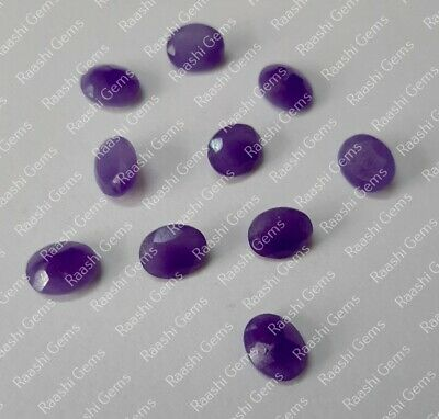 Details about  /Finest Lot Natural Purple Jade 12x12 mm Trillion Faceted Cut Loose Gemstone
