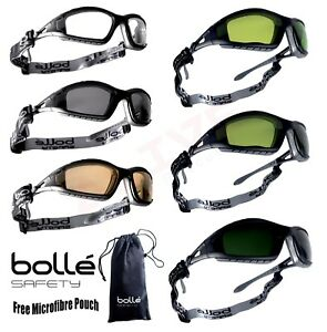 82bf17a1e3a6 Image is loading Bolle-Safety-Glasses-Goggles-Spectacles-BOLLE-TRACKER -Welding-