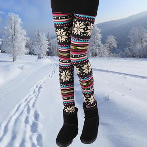 Fabulous Slim Graphic Printed Legging Stretchy Pencil Jeggings Pantalon Collant