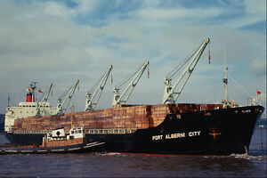 535011-British-Clyde-built-Bulk-Carrier-PORT-ALBERNI-CITY-A4-Photo-Print
