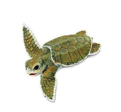 Takara Tomy 3D Capsule Encyclopedia Loggerhead sea turtle figure US seller new