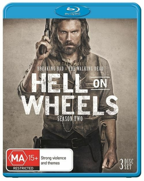 Hell On Wheels : Season 4 : NEW Blu-Ray