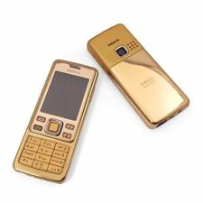 Nokia 6300 Gold Unlocked Camera Bluetooth Classic Mobile Phone ( With Box )