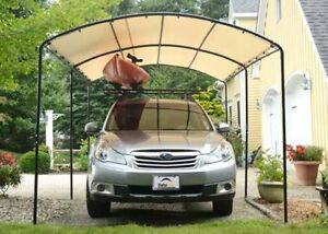 Image is loading 9x16-ShelterLogic-Monarc-Canopy-Carport -Portable-Garage-Shade- & 9x16 ShelterLogic Monarc Canopy Carport Portable Garage Shade ...