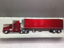 HO 1/87 Model Power # 17000 KW T-600 LHaul Tractor w/40' Dry Van Candy Apple Red