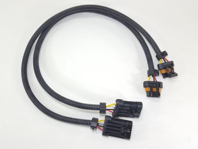 Two 24\ Gm Ls1 Oxygen O2 Sensor Extension Harnesses 4 Wire Flat Rhebay: Gm O2 Sensor Extension Harness At Gmaili.net