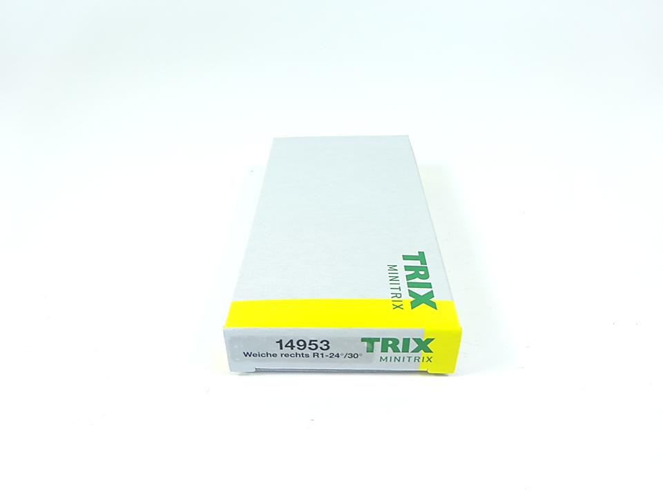 Minitrix 14926 gebogenes Gleis R2 6° in N Fabrikneu