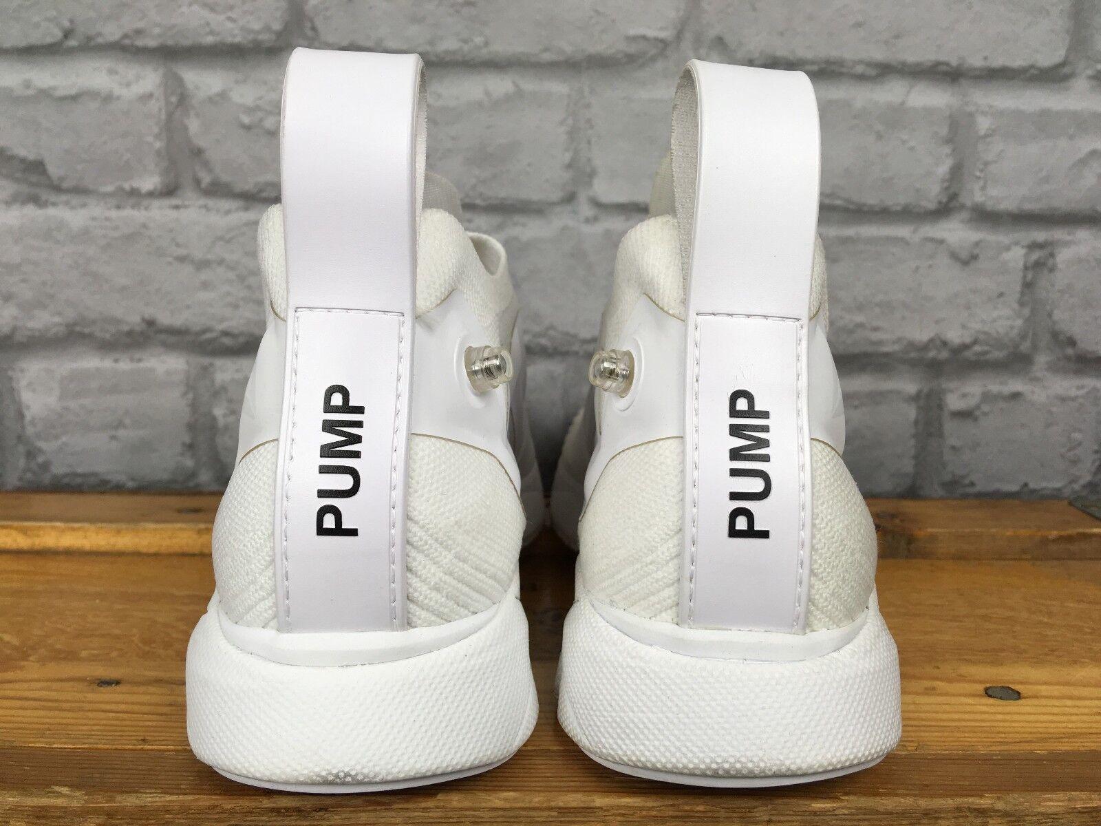 Reebok Homme UK 8 EU 42 Blanc Pompe suprême Distance Knit formateurs Ultra Knit Distance RRP £ 160 962db6