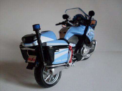maisto moto modelo 1:18 Bmw R 1200 RT polizia