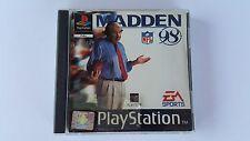 MADDEN NFL 98 / jeu Playstation 1 - PS one / complet / PAL