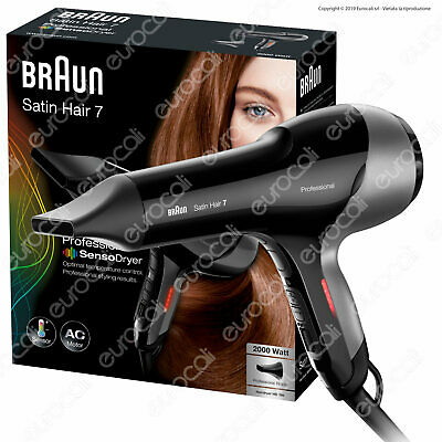 Braun Satin Hair 7 HD780 Professional SensoDryer Asciugacapelli Con Motore AC