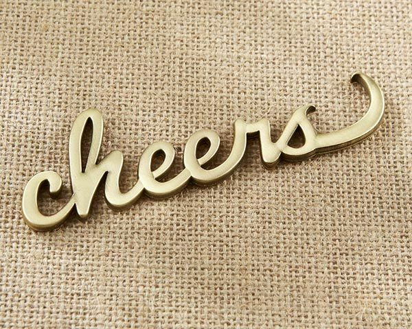 24 Cheers Antique or Décapsuleur Bridal Shower Mariage faveurs