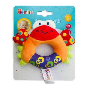 Jouet-Creatif-pour-les-Enfants-Nouveau-Ne-BamBam-Crabe-Hochet-Di-Peluche-2842