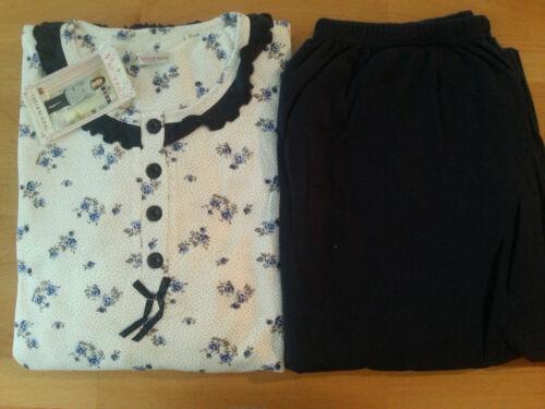 Damen Schlafanzug//Pyjama innen angeraut  M   L   XL
