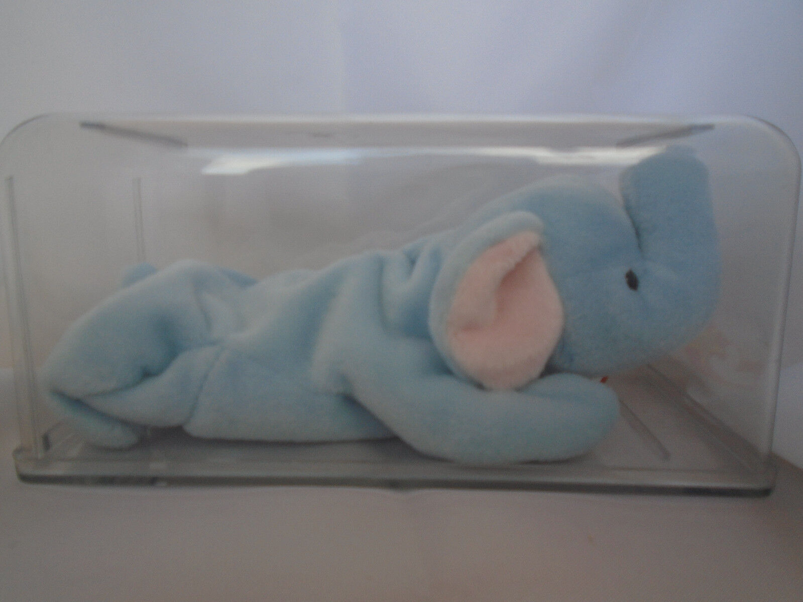 1995 TY Beanie Babies Light blueee Peanut Elephant