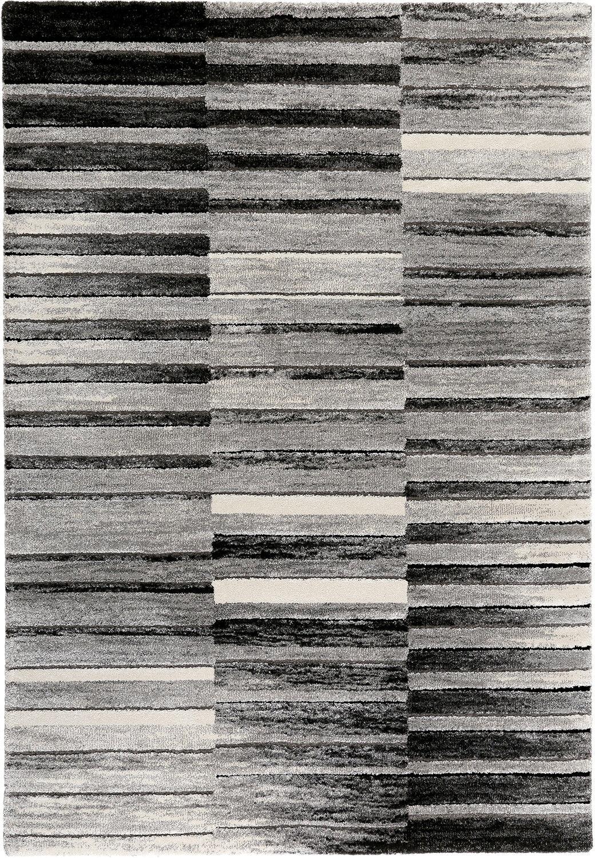 Esprit alfombra  Wild Stripes  esp-3389-095 negro-blancoo tamaños de selección